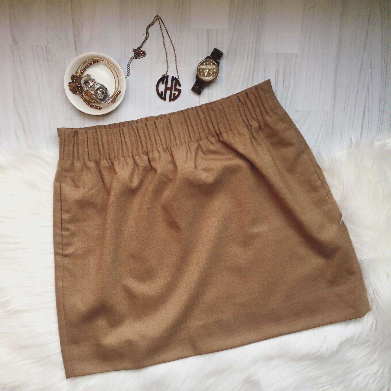 J.Crew Linen Sidewalk Skirt Sale